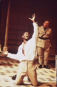 1997 - David Harewood in the lead as 'Othello' at the National Theatre, London David Harewood, William Hazlitt, Works Of Shakespeare, James Matthews, Martian Manhunter, Othello, National Theatre, Actors & Actresses, Articles