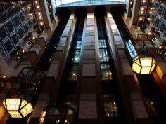 Atrium Elevators on Carnival Liberty Carnival Liberty, Cruise Ships, Galveston, Atrium, Caribbean, Sailing, Explore, Adventure, World