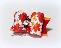 BellasDogBows on Zibbet: Special Bows for Special Dogs