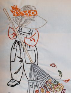 Sunbonnet Sue for October.