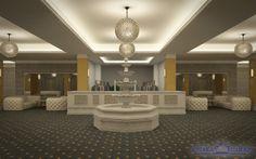 Lobby-ul American Ballroom este locul ideal pentru organizarea evenimentelor de amploare – conferințe, întâlniri, seminarii, training-uri, lansări de produse, expoziții etc. – prin facilitățile de ultimă generație, spațiile flexibile și atenția acordată fiecărui detaliu.  Spațiul de primire, cu o suprafață totală de 500 mp, conferă o notă distinsă celor 4 saloane pe care le deservește și pune la dispoziția clienților noștri atât un spațiu de joacă pentru copii, cât și o garderobă.