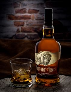 Buffalo Trace Whiskey by Arizona Commercial Beverage Photographer Chad J Weed Whisky Bar, Cigars And Whiskey, Bourbon Whiskey, Whiskey Bottle, Whiskey Drinks, Johnnie Walker Green Label, Whisky Chivas, King George, Jack Daniels