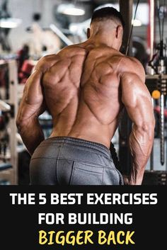 fat burning - The 5 Best Exercises For Building Bigger Back in this article, I'm going to share with you the best Exercises to building your best back ever bodybuilding fitness muscle Back workout Back Workout Men, Good Back Workouts, Back Exercises, Fun Workouts, Workout Abs, Workout Ideas, Workout Fitness, Simeon Panda, Bodybuilder