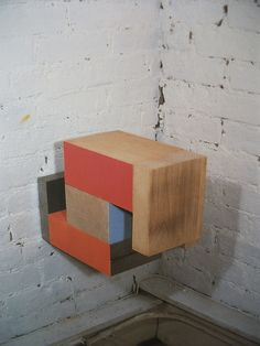 Pello Irazu 2d, Cube, Construction, Artists, Abstract, Basque, Building, Summary, Artist