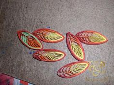 Tutorial for these quilled leaves