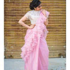 Birthday Ideas For Women People 25 Ideas Sari Design, Saree Gown, Modern Saree, Bollywood, Saree Blouse Neck Designs, Simple Sarees, Stylish Sarees, Fancy Sarees, Half Saree