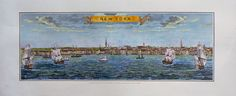 City  New York I / United States  Cm. 100 x 40 di OldDecorPrints