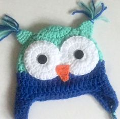 A personal favorite from my Etsy shop https://www.etsy.com/ca/listing/539475171/crochet-owl-hat-baby-owl-hat-owl-hat