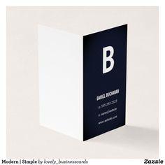 Modern | Simple Business Card
