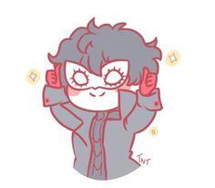 Joker being cute