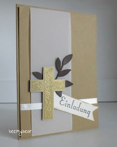 stampin with beemybear: Kommunion/Konfirmation