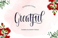Greatful by Polem on @creativemarket
