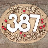 Pottery Houses, Ceramic Houses, Ceramic House Numbers, Watch Display Case, House Plaques, Clay Baby, Kintsugi, Porcelain Clay, Ceramic Painting