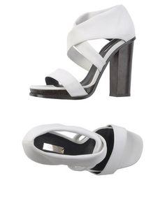 Calvin klein collection Women - Footwear - Sandals Calvin klein collection on YOOXL'autre chose. For an additional 3% off your order sign up at   http://www.ebates.com/rf.do?referrerid=IR0blIl3xxj30K45w%2BDBVg%3D%3D