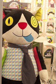 Giant deglingos cat! Soft toys - Maison et Objet September 2014