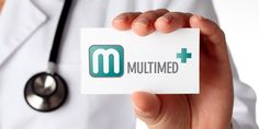 Projekt logo Specjalistycznej Przychodni Lekarskiej MultiMed.