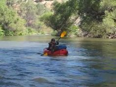 Packrafting Cache Creek Wilderness - YouTube