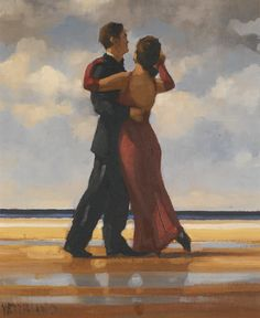Jack Vettriano, O.B.E. B.1951 STUDY FOR THE SINGING BUTLER B.1951 ...