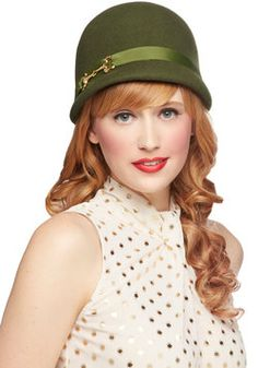Note to self: ModCloth has cute hats!