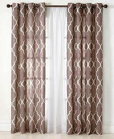 """Elrene Window Treatments, Medalia 52\"""" x 84\"""" Panel"""
