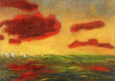 On the High Sea, Emil Nolde, 1949