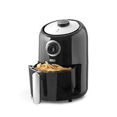 Dash Compact Air Fryer L Electric Air Fryer Oven Cooker with Temperature Control, Non Stick Fry Basket, Recipe Guide + Auto Shut off Feature - Black Cool Kitchen Gadgets, Kitchen Items, Cool Kitchens, Kitchen Dining, Red Kitchen, Bulthaup Kitchen, Kitchen Appliances, Electric Air Fryer, Air Fryer Review