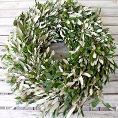 adventskranz mit olivenblätter - Recherche Google