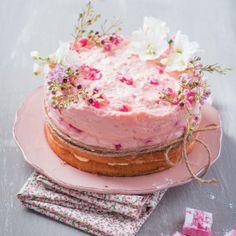 Turkish Delight Bavarois Cake