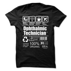 Ophthalmic Technician T-Shirts, Hoodies. CHECK PRICE ==► https://www.sunfrog.com/LifeStyle/Ophthalmic-Technician-63365485-Guys.html?id=41382
