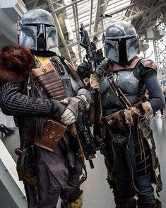 Mandalorian Cosplay, Cosplay Armor, Cosplay Diy, Star Wars Room, Star Wars Art, Star Wars Painting, Star Wars Bounty Hunter, La Forge, Star Wars Characters