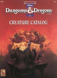D&D: DMR2 Creature Catalog ~ TSR (1993)