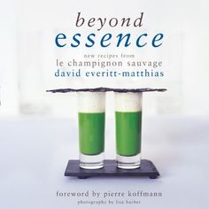 Beyond Essence: New Recipes from Le Champignon Sauvage by David Everitt-Matthias http://www.amazon.co.uk/dp/1906650780/ref=cm_sw_r_pi_dp_QHFvub1R8PB7H, love all three books. Love this restaurant