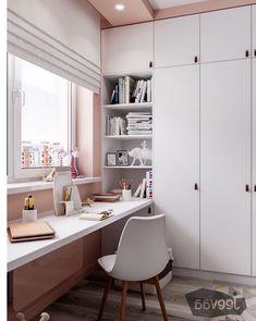 Study Room Design, Room Design Bedroom, Small Room Bedroom, Kids Room Design, Room Ideas Bedroom, Home Room Design, Home Office Design, Home Office Decor, Bedroom Decor