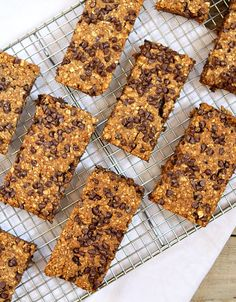 Yield:serving size 1 4 smart points Ingredients : 3 cups quick cooking oats  1 cup white whole wheat flour  2 teaspoons baking soda  1 teaspoon ground cinnamon  1 1/2 cups unsweetened applesauce  3/4 cup packed light brown sugar  2 teaspoons vanilla extract  2/3 cup miniature