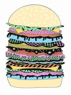 Burger by Clay Hickson, via Flickr