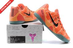 99c9dc8ef0e6 Fast Shipping To Buy Peach Cream Bright Mango-Cannon-Medium Mint Nike Kobe 9  Elite Low Mens