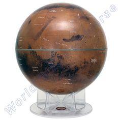 Mars, Celestial Globe - very detailed