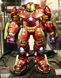 Behold, The Iron Man Hulkbuster That Will Destroy Our Wallets To Smithereens.  Check out the full size one!  Too cool!!