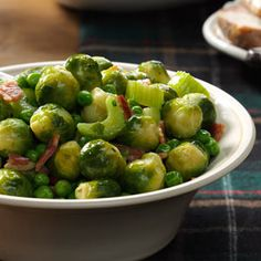 Holiday Brussels Sprouts Recipe from Taste of Home