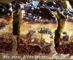 Łącki przekładaniec Bon Appetit, Food And Drink, Snacks, Chocolate, Cooking, Sweet, Layer Cakes, Bakken, Kitchen