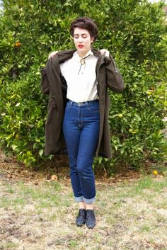 Teddy Girl style!                                                                                                                                                     More
