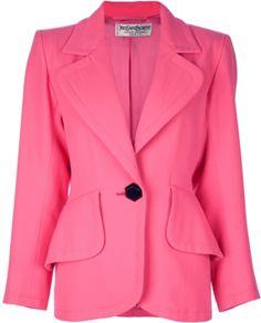 YVES SAINT LAURENT VINTAGE long sleeve jacket