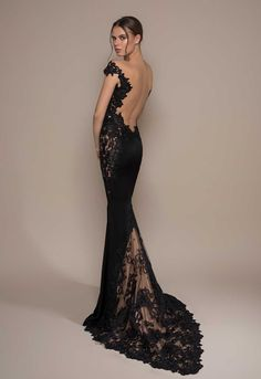 Gala Dresses, Couture Dresses, Fashion Dresses, Formal Dresses, Long Mermaid Dress, Mermaid Dresses, Evening Outfits, Evening Dresses, Black Wedding Gowns