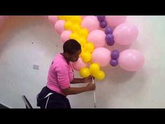 Tutorial/How to make a Balloon Arch/Large Flat Arch/ No Helium Balloon Tower, Ballon Arch, Deco Ballon, Balloon Display, Balloon Columns, Balloon Wall, Balloon Garland, Balloon Centerpieces, Balloon Decorations Party