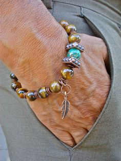 Native American Men's Spiritual Protection Balance by tocijewelry