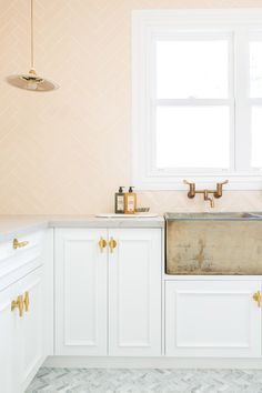 Three Birds Renovations on being creative with tiles - The Interiors Addict Laundry Tubs, Laundry Rooms, Three Birds Renovations, Layout, Bathroom Floor Tiles, The Design Files, White Tiles, My Dream Home, Dream Life