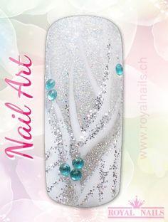 Nail Art Design Inspiration Nr. 66 #christmas #weihnachten #santaclaus #nailart #winter-holidays