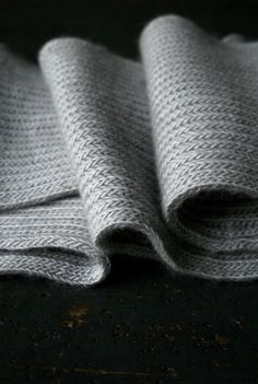 Laura's Loop: Brioche Scarf - Purl Soho - Knitting Crochet Sewing Embroidery Crafts Patterns and Ideas!