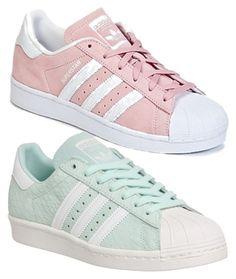 adidas rose et blanche