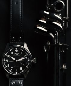 The IWC Big Pilot's Watch. With its clear, iconic design and modern technology, the Big Pilot's Watch is sure to impress.